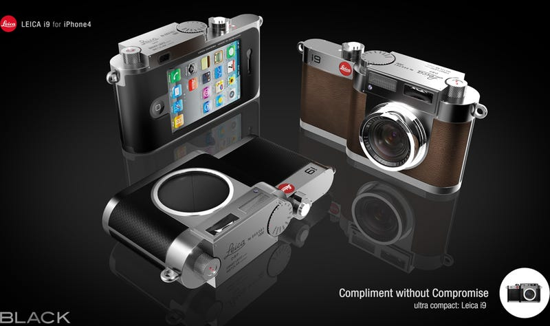 Leica i9 Case Concept Gives iPhones a Proper Working Camera