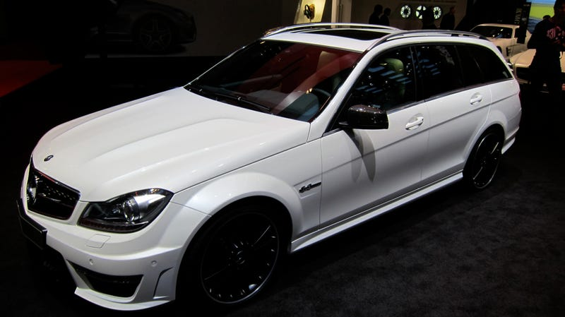 Mercedes-Benz C63 AMG Wagon gives us the neg