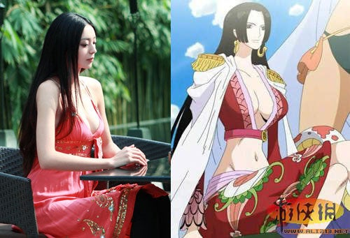 This FPS Cover Girl Reminds Japan of a One Piece Character
