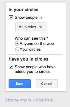 A Guide to Google+ Privacy and Information Control