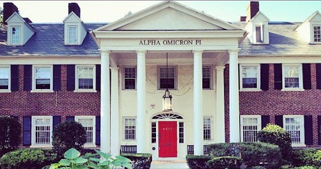 Sorority Rush Drives AOPi Sisters So Insane They Had to Get Naked