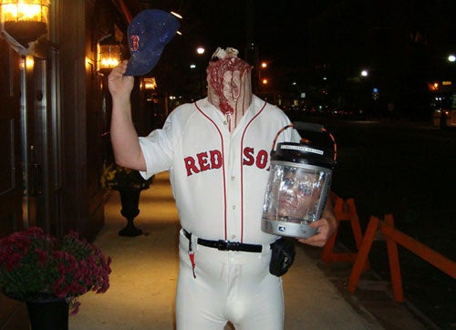 There Goes The Greatest Halloween Costume That Ever Lived