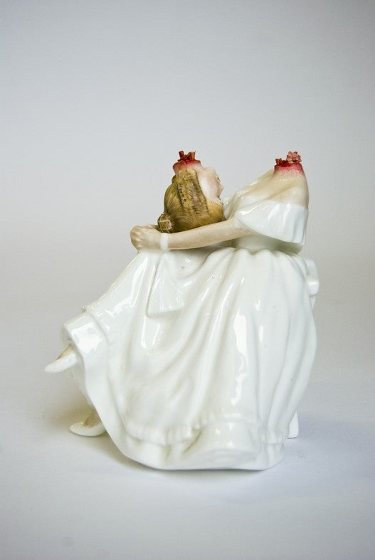Porcelain figurines for your zombie grandma's mantel
