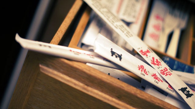 A Few Creative Solutions for Your Takeout Chopstick Surplus Problem