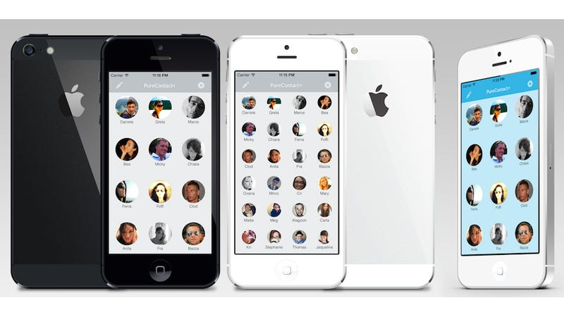 PureContact, the Visual Contact Manager and Dialer, Is Out for iPhone