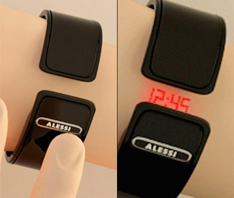 Concept Watch Actually Projects the Time Onto Your Wrist...With Lasers