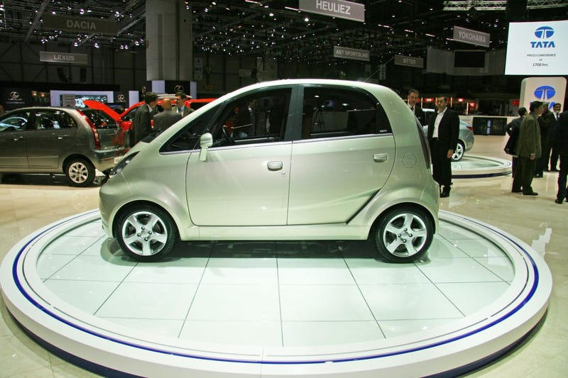 Tata Nano Europa: A Cheap Car Gets Less Cheap For Europe