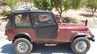 A 1986 Jeep CJ7 Laredo for $25,500?