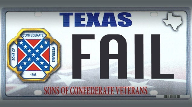 Confederate License Plates: The Price Of Government Greed