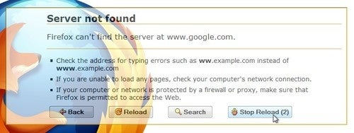 Fierr Enhances the Firefox Error Page with Automatic Reloading and More