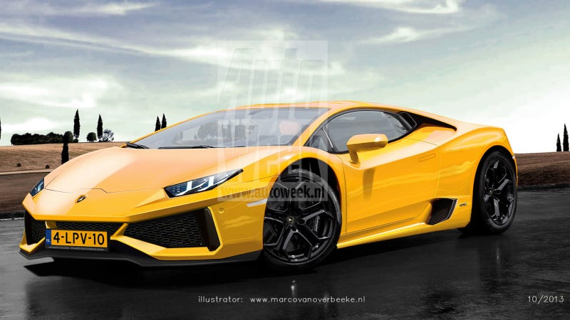 Is This What The Lamborghini Cabrera Will Look Like?