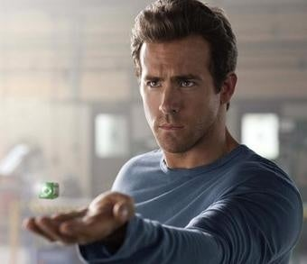 What old-school Green Lantern character will cameo in the movie?