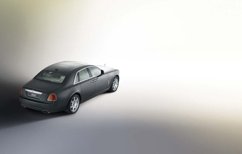 Rolls Royce 200EX Concept: Really Tiny, For A Roller