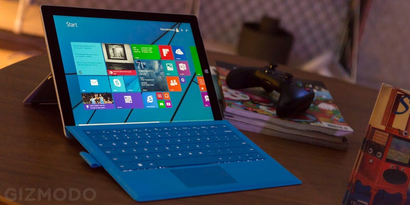 Come Play With Microsoft's New Surface Pro 3 at Home of the Future