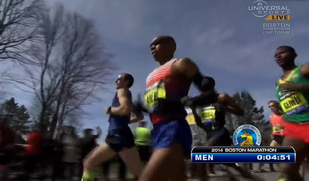 Guy Who Got Himself On TV At Start Of Boston Marathon Finished 927th