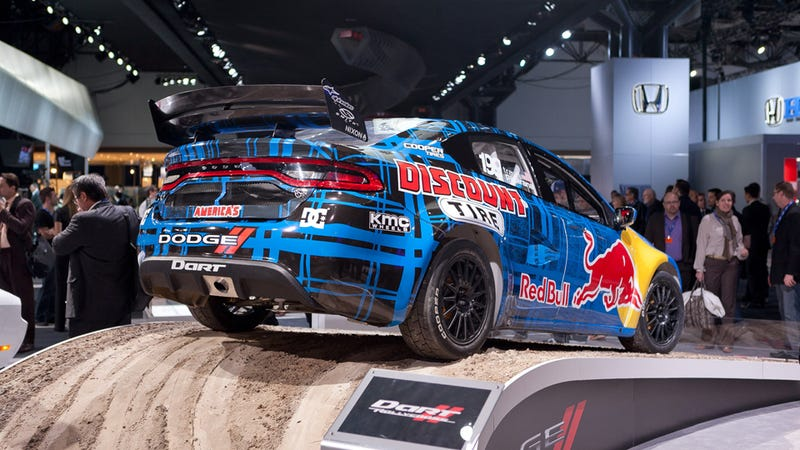 This Is Travis Pastrana's 600-HP Rallycross Dodge Dart
