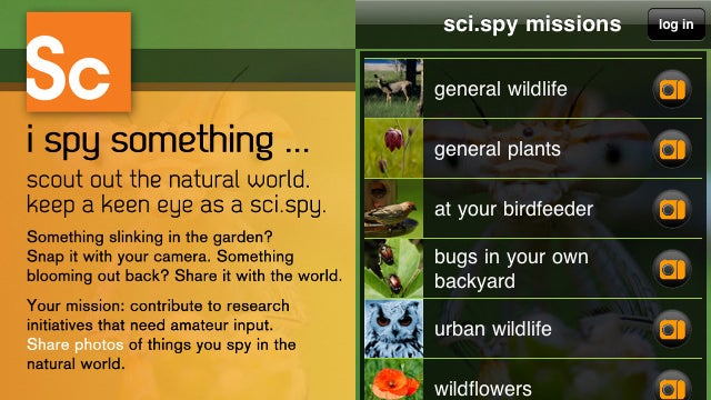 SciSpy App for iOS Lets You Practice Being a Real Ecologist