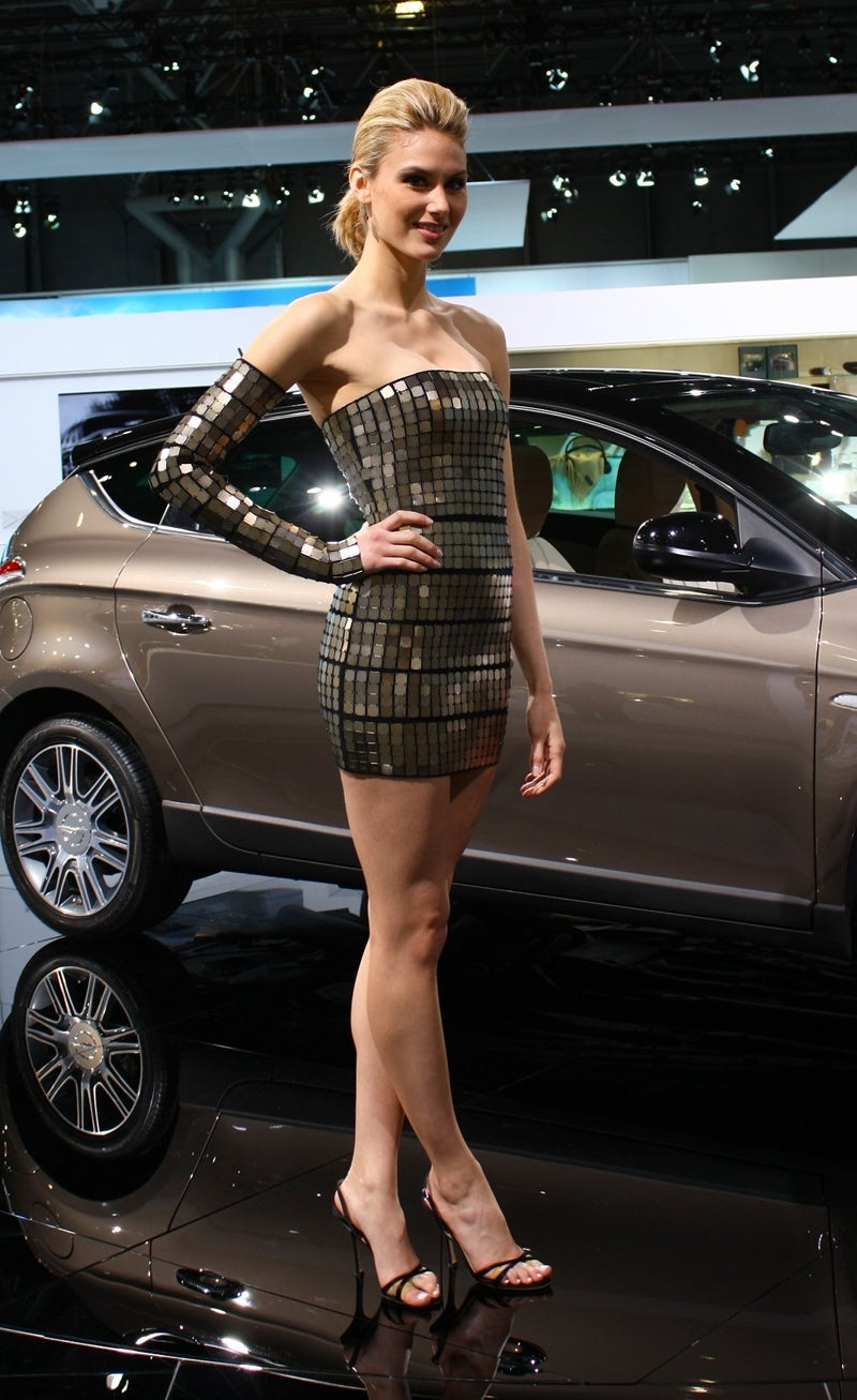 Booth Professionals Of The 2010 New York Auto Show