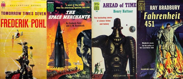 The Man Who Invented The Science Fiction Paperback