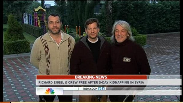 Richard Engel Freed from Captivity in Syria After Being Held for Five Days