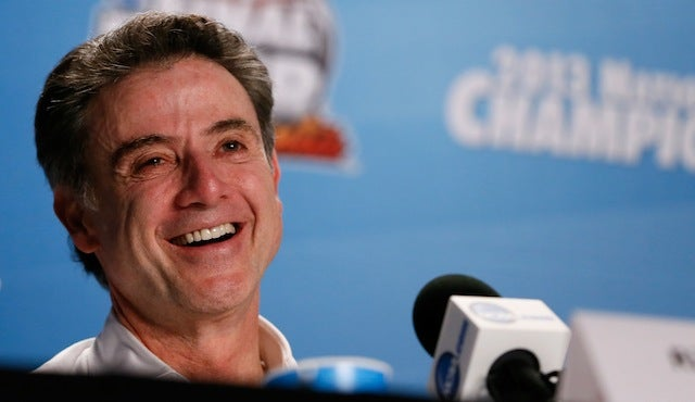 Rick Pitino Radio Interview Comes To A Hilarious, Premature End