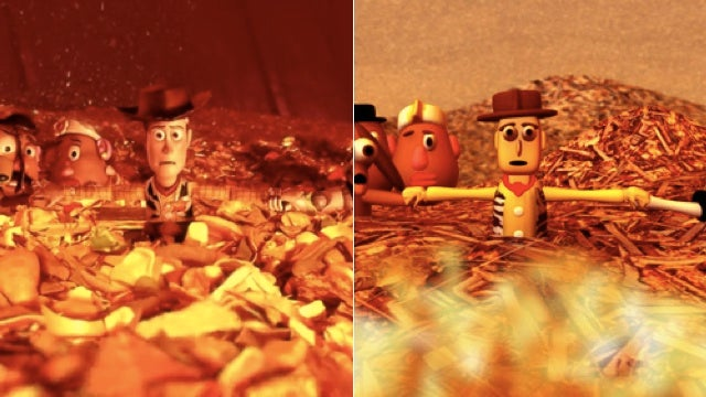 These Badly Recreated Animated Film Frames Crack Me Up
