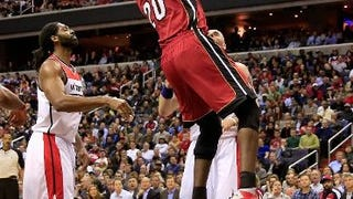 Greg Oden Plays (And Dunks) In First Game Since 2009