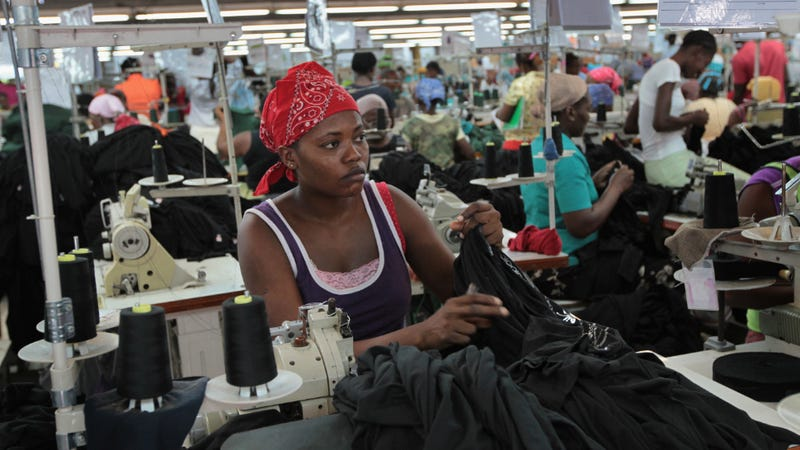 Why Poor Haitians End Up Wearing Obnoxious American T-Shirts