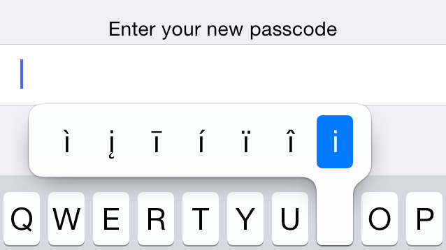 Use Special Characters For an Easy, Complex iPhone Password