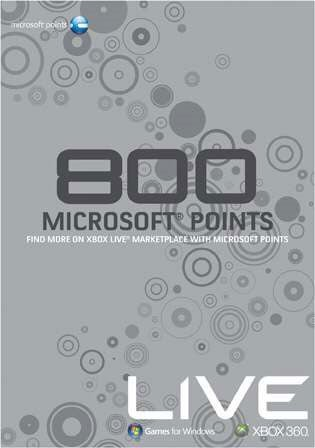 800 Point XBL Cards Might Be At A Retailer Near You
