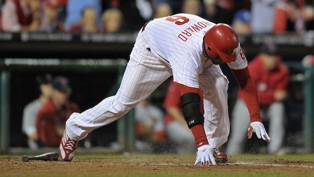 """Ryan Howard: """"I'm Going To Go Out There And Give 100 Percent Of 85 Percent."""""""
