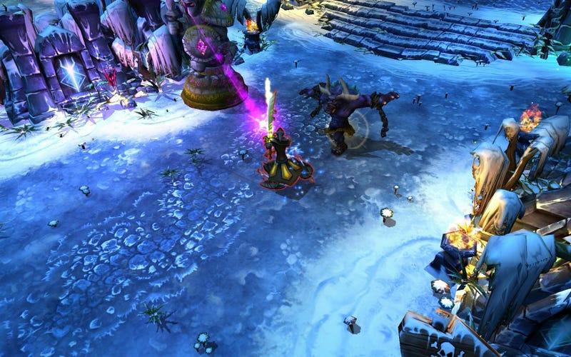 Even League Of Legends Needs A Snow Level
