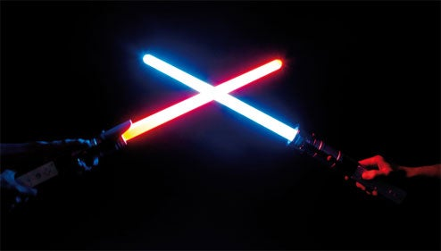 Thrustmaster Get Wii Lightsaber Peripherals RIGHT