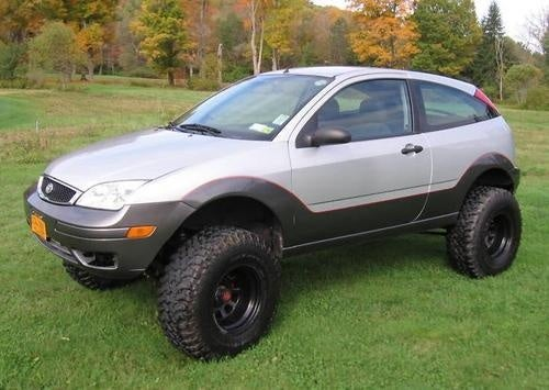 4x4 Ford Focus Is Perfect Vehicle For The Off Road Compact