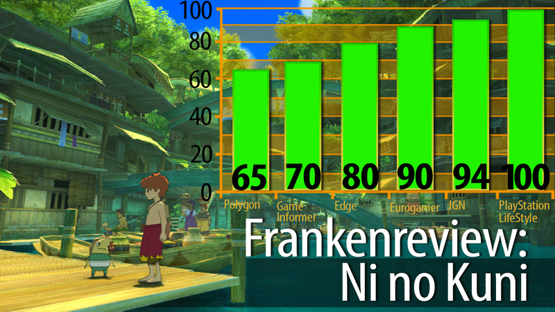 Ni no Kuni Is Gorgeous, Reviewers Agree. But Not Everyone Is Head Over Heels.