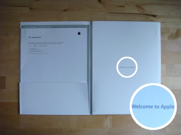 Apple's Job Offer Letters Look Like This