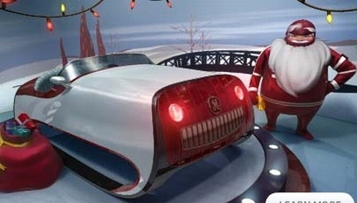 Santa Gets Badass New Sleigh From GE