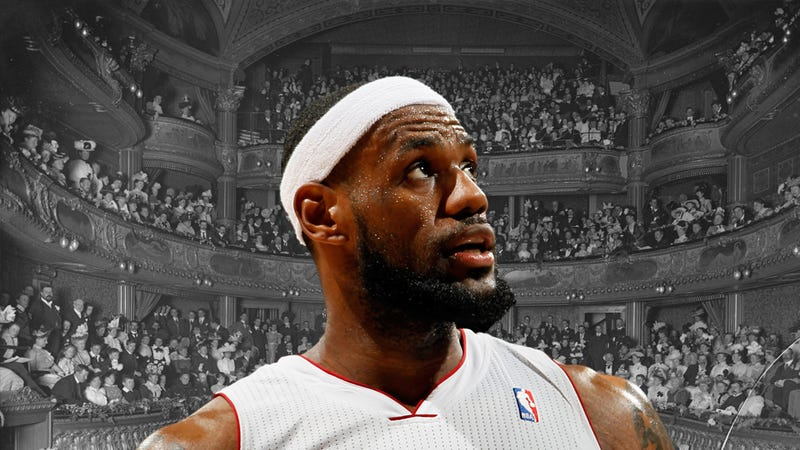 LeBron James Tells The Sports World Exactly What It Wants To Hear