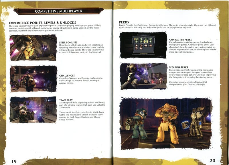 The Space Marine's Hand Book
