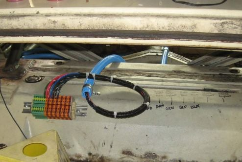 DIN Rail And Smurf Tube: How To Wire Your Race Car On The Cheap