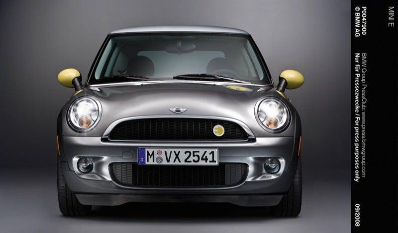 Mini E Electric Car Perfect For Al Gore Remake of Italian Job