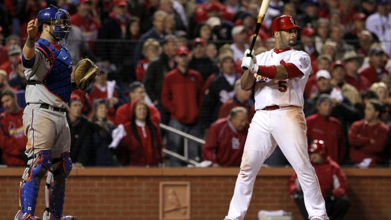 The Rangers Should Probably Stop Intentionally Walking Albert Pujols