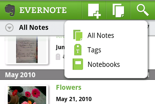 Evernote 2.0 Beta for Android Speeds Up Your Notes, Looks a Lot Better