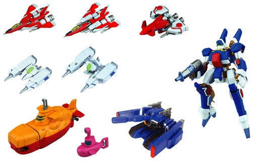 Shooting Game Capsule Toys In Glorious Color