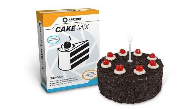 Make Your Own Official Portal Cakes With Official Portal Cake Mix