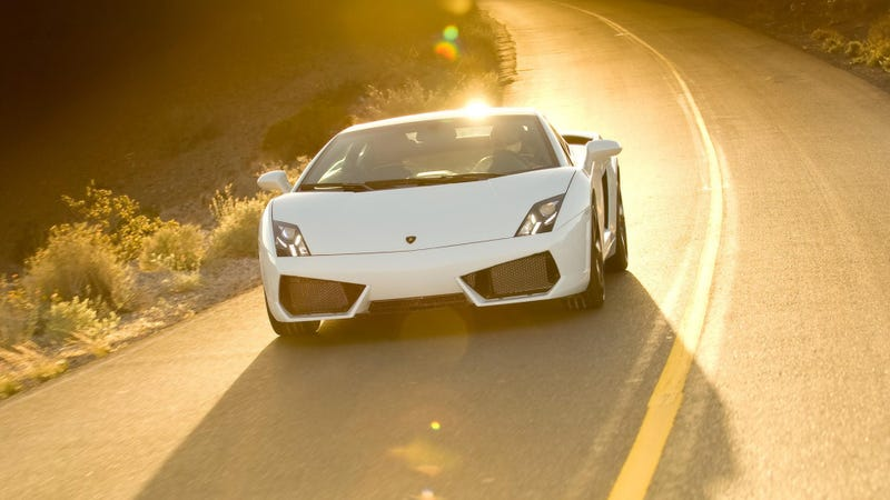 Would You Take The Bus Every Day For A Gallardo On The Weekend?