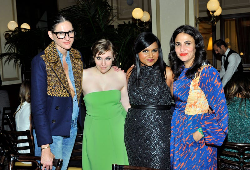 Lena Dunham Accidentally Interviews Herself, Instead Of Mindy Kaling