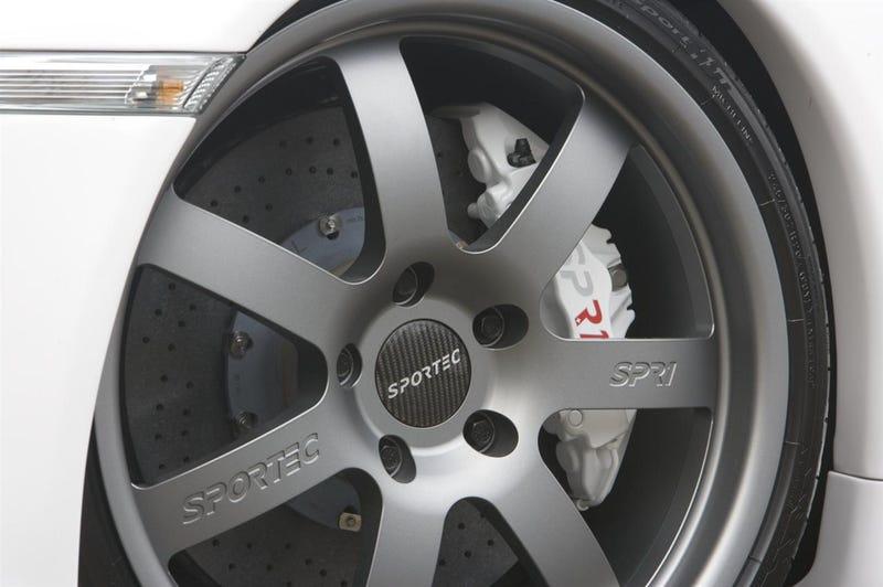 SPORTEC SPR1 T80 Boasts 858 HP, 236 MPH Top Speed