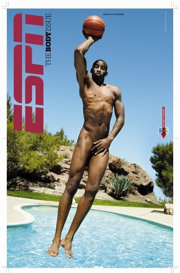 Who Wants To See A Photo Of Amar'e Stoudemire Jumping Naked Into A Pool?