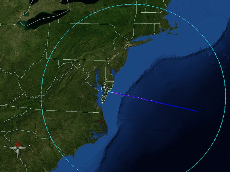 Here's how to catch NASA's rocket-powered light show tonight